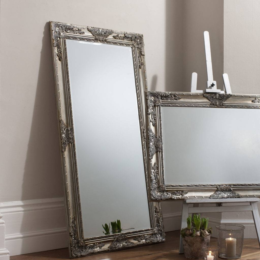 Bedroom: Appealing Oversized Mirrors For Home Decoration Ideas Inside Big Floor Standing Mirrors (View 3 of 15)