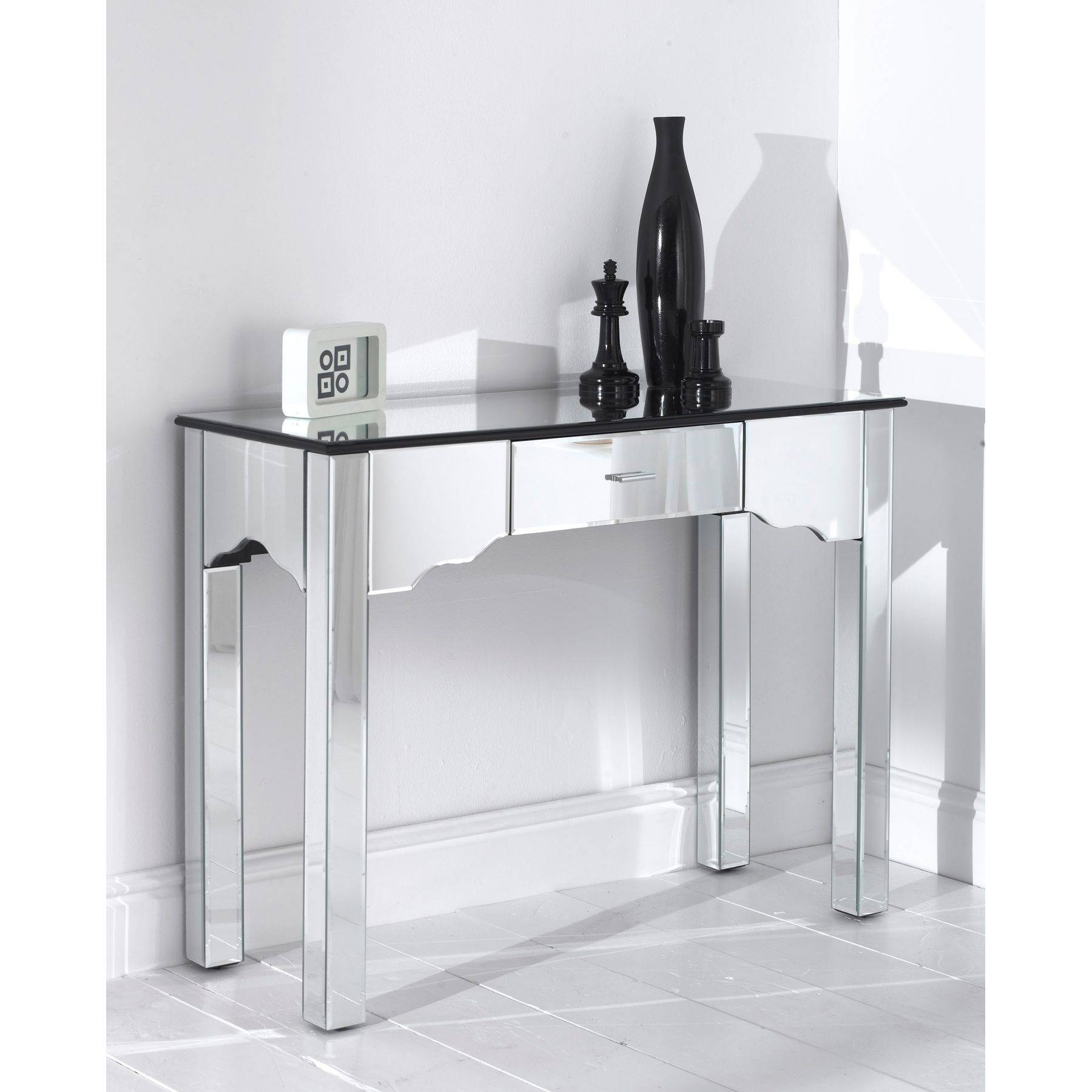 Bedroom Furniture Sets : Mirrored Console Table Next Contemporary pertaining to Mirrors Console Table (Image 2 of 15)