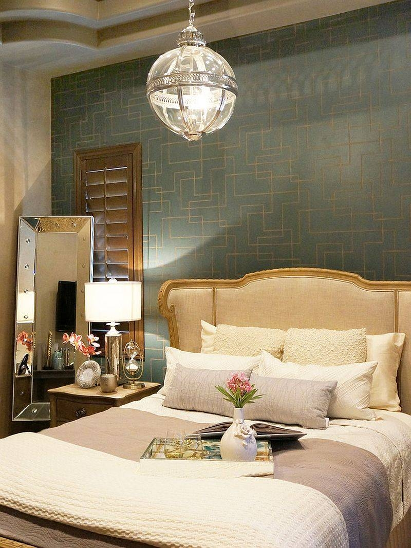 Bedrooms : Elegant Victorian Bedroom With White Bed And Wood regarding Victorian Hotel Pendant Lights (Image 7 of 15)