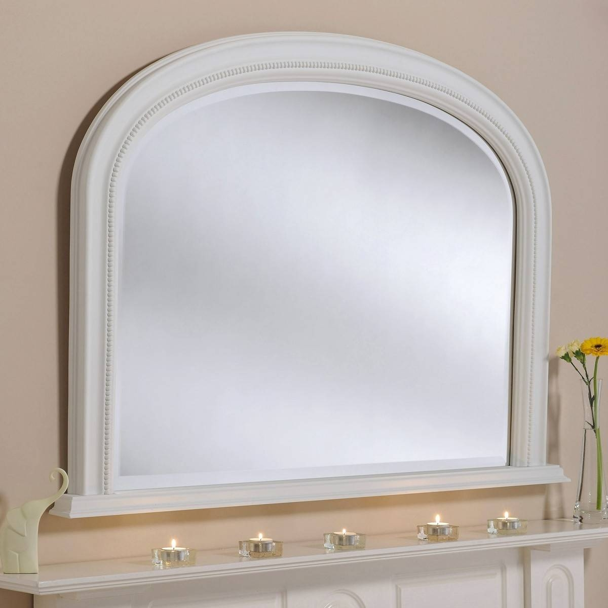 Belle Overmantle Mirror From £269 – Luxury Overmantle Mirrors Throughout White Overmantle Mirrors (View 14 of 15)