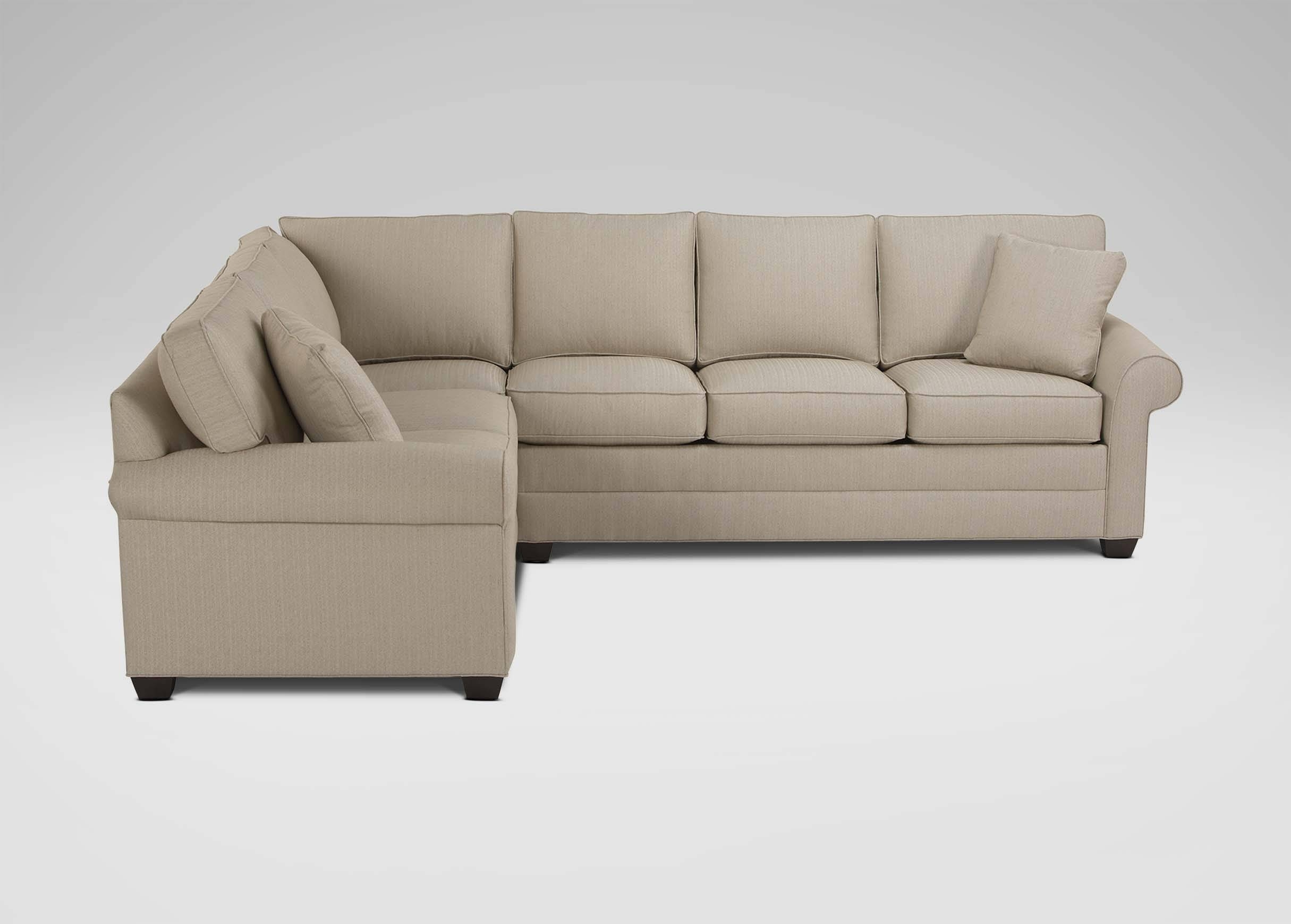 Bennett Roll Arm Sectional | Sectionals For Ethan Allen Sectional Sofas (View 4 of 15)