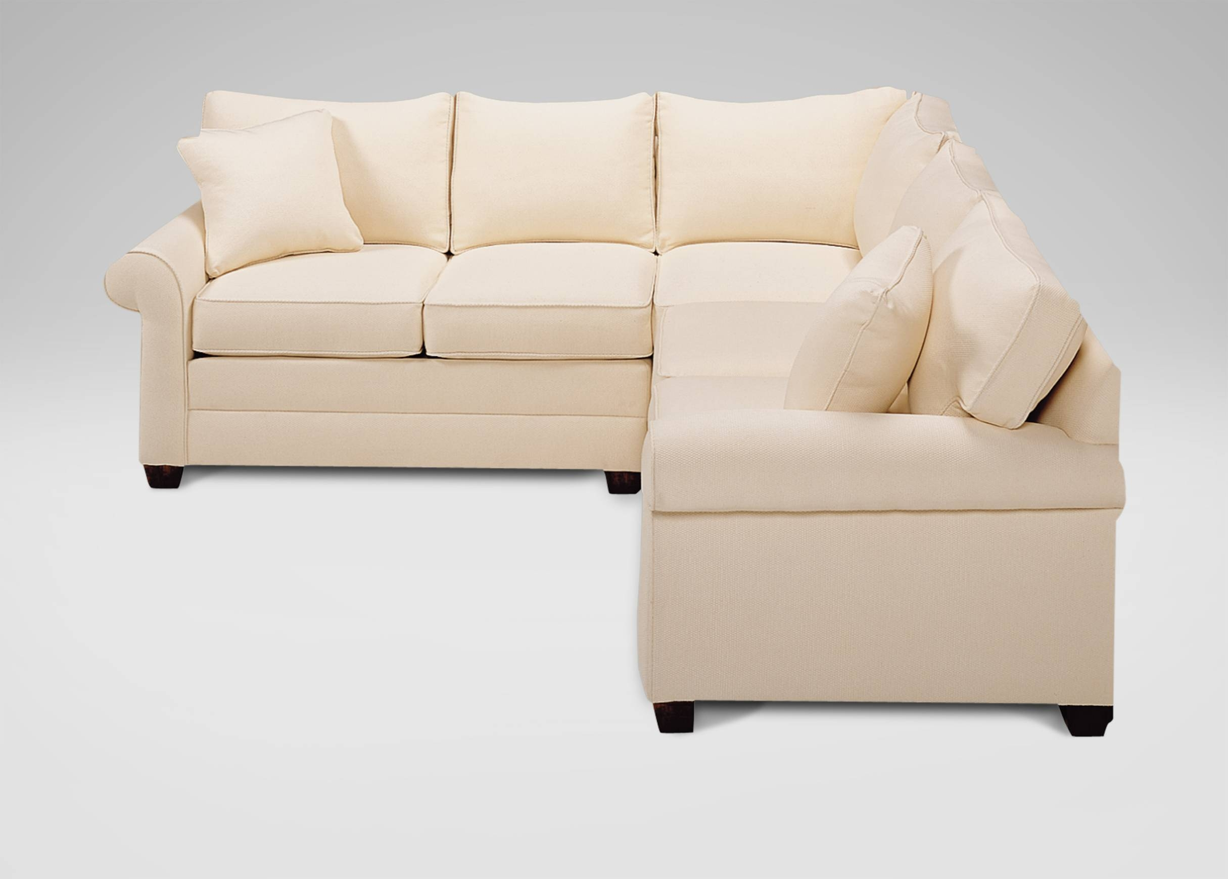Bennett Roll Arm Sectional | Sectionals Within Ethan Allen Sectional Sofas (View 3 of 15)
