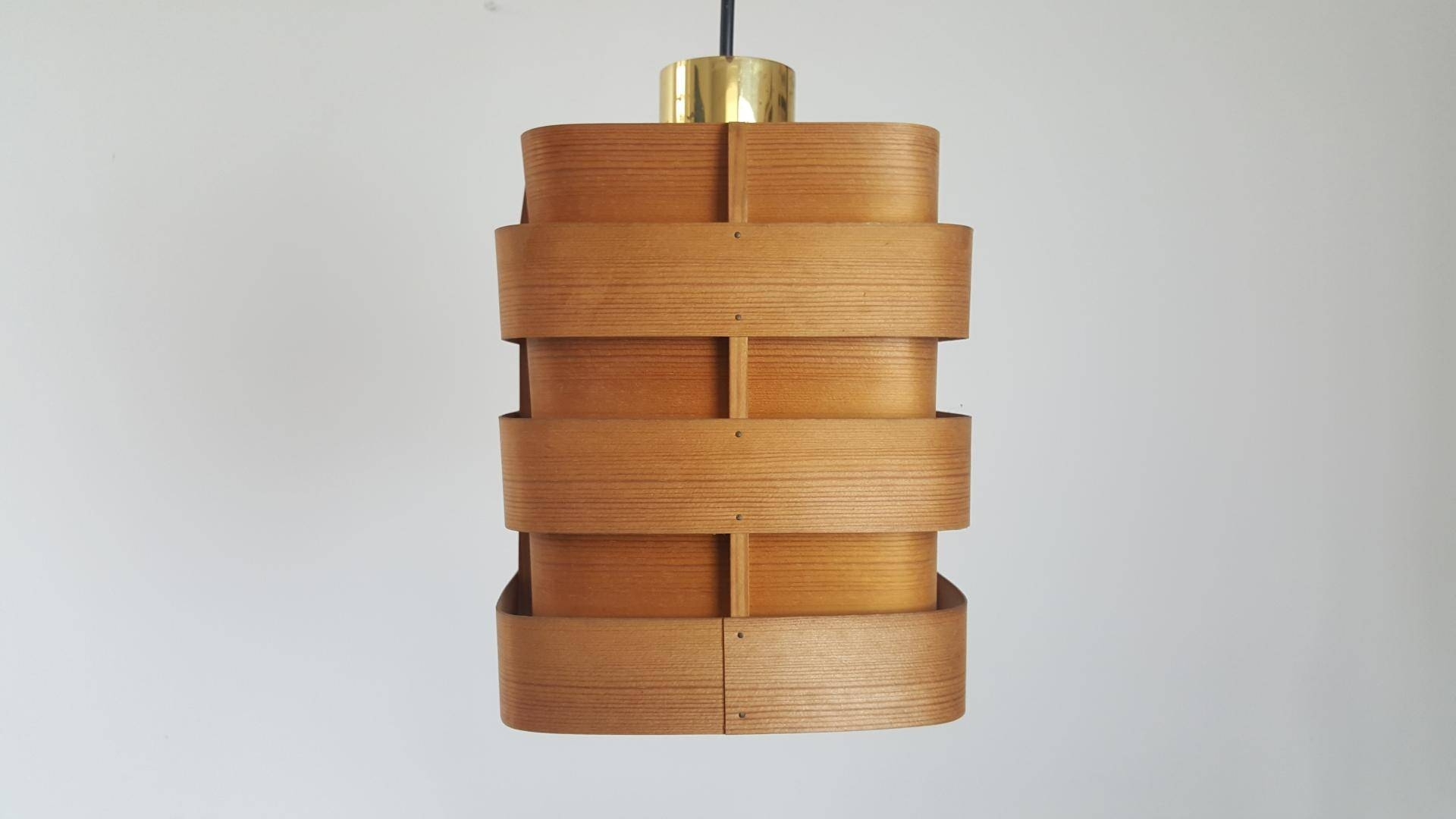 Bentwood Pendanthans-Agne Jakobsson For Ellysett, 1960S For with regard to Bentwood Pendants (Image 3 of 15)