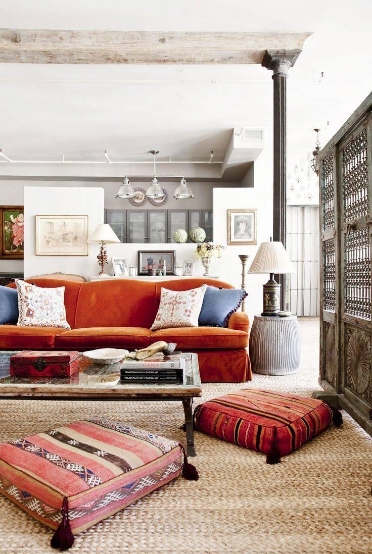 Best 10+ Orange Sofa Design Ideas On Pinterest | Orange Sofa Intended For Orange Sofa Chairs (View 4 of 15)