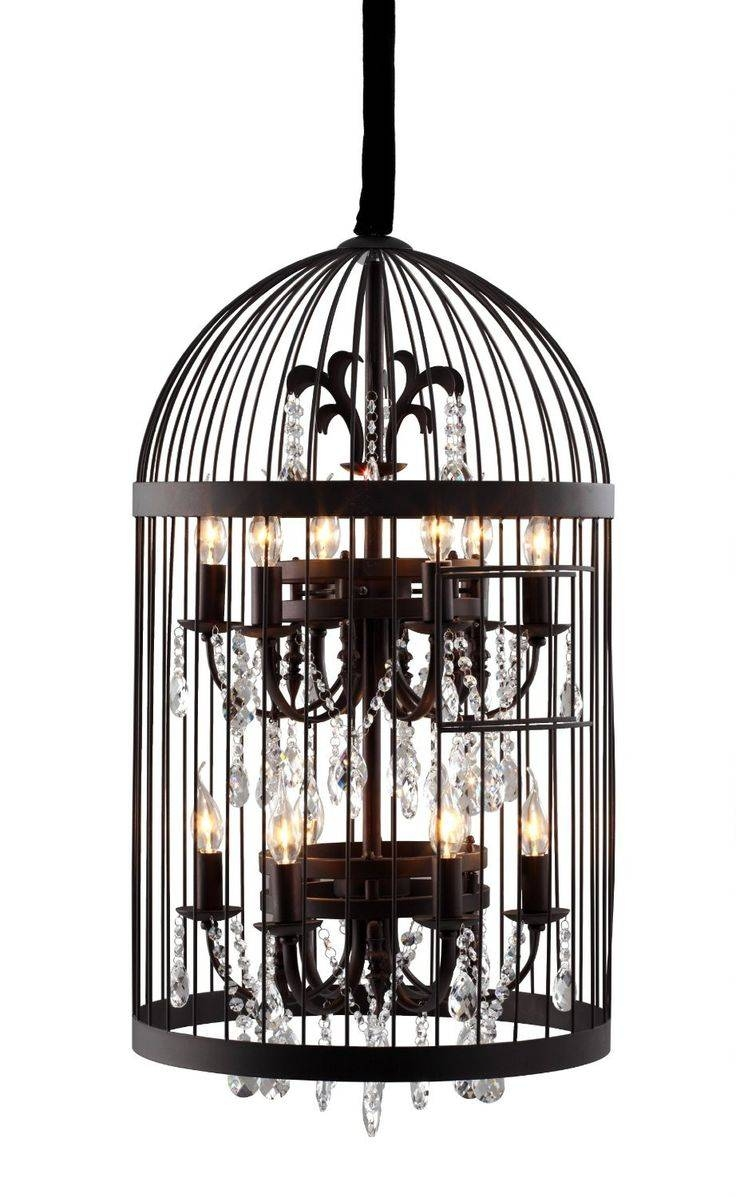 Best 20+ Birdcage Chandelier Ideas On Pinterest | Birdcage Light in Birdcage Pendant Lights Chandeliers (Image 4 of 15)