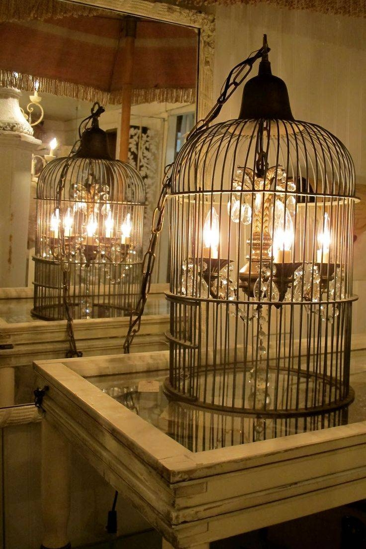 Best 20+ Birdcage Chandelier Ideas On Pinterest | Birdcage Light regarding Birdcage Lights Fixtures (Image 4 of 15)