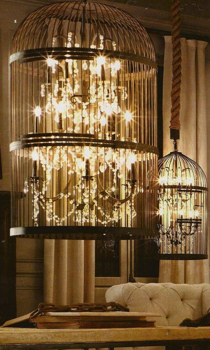 Best 20+ Birdcage Chandelier Ideas On Pinterest | Birdcage Light throughout Birdcage Lights Fixtures (Image 5 of 15)