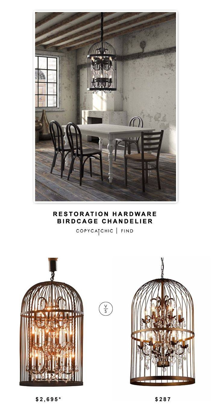 Best 20+ Birdcage Chandelier Ideas On Pinterest | Birdcage Light with Birdcage Lights Fixtures (Image 6 of 15)