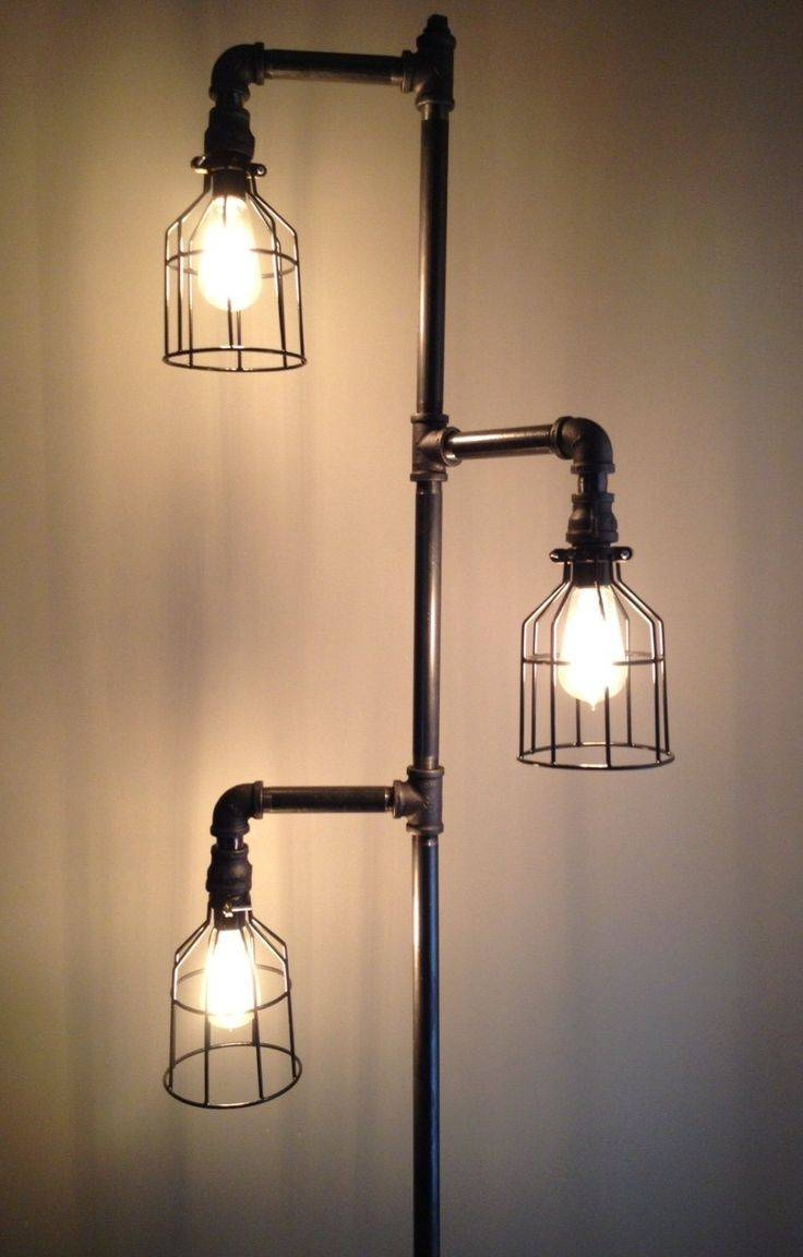 Best 20+ Industrial Floor Lamps Ideas On Pinterest | Industrial with Cheap Industrial Lighting (Image 1 of 15)