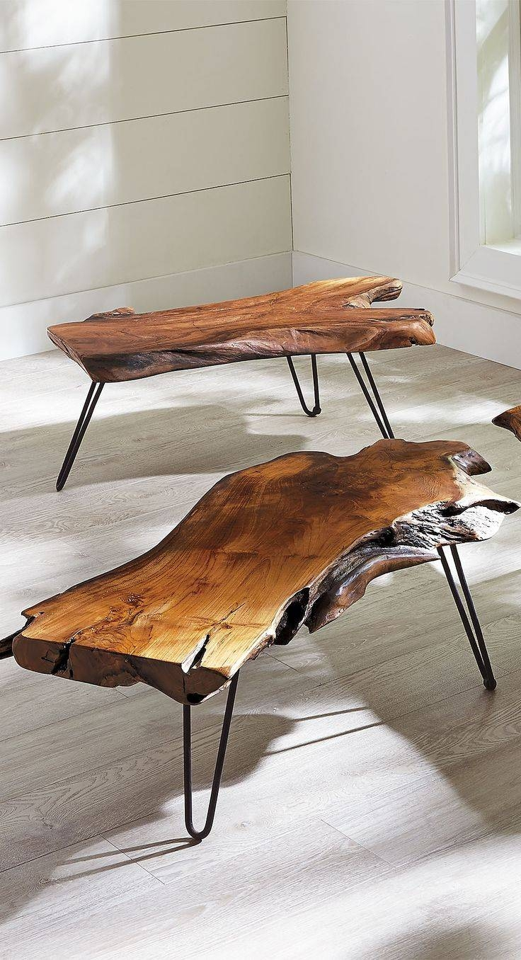Best 20+ Natural Wood Coffee Table Ideas On Pinterest | Log Table pertaining to Natural Wood Coffee Tables (Image 1 of 15)