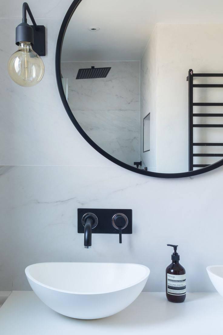 Best 25+ Black Round Mirror Ideas On Pinterest | Small Hall, Small intended for Large Black Round Mirrors (Image 1 of 15)