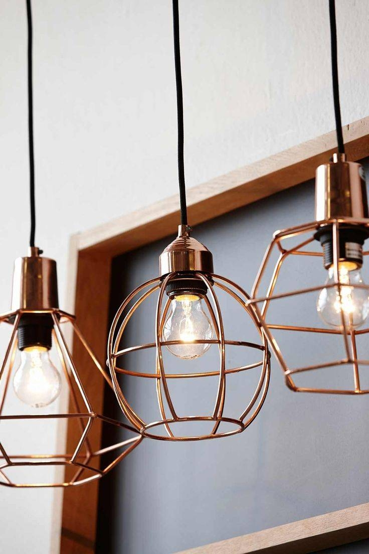 Best 25+ Cage Pendant Light Ideas On Pinterest | Modern Led Bulbs inside Fancy Rope Pendant Lights (Image 1 of 15)