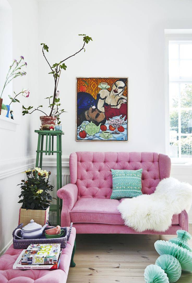 Best 25+ Colorful Couch Ideas On Pinterest | Green Living Room Pertaining To Colorful Sofas And Chairs (View 9 of 15)