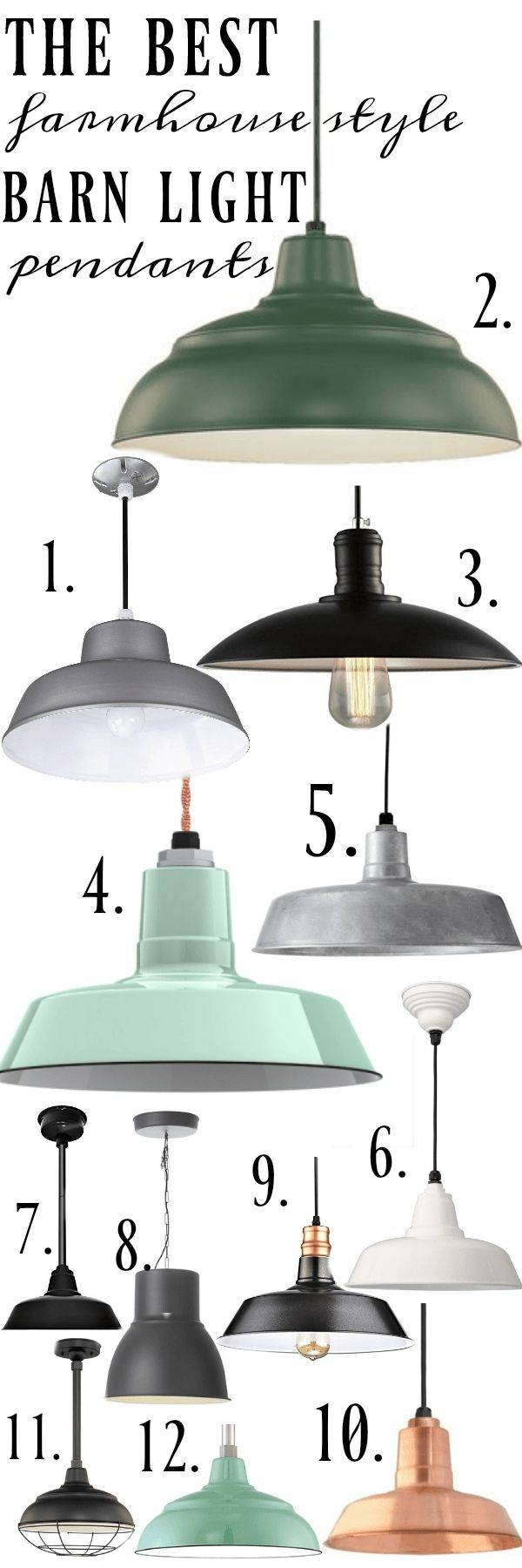 Featured Photo of Cottage Style Pendant Lights