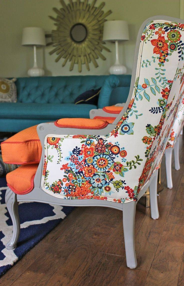 Best 25+ Floral Sofa Ideas Only On Pinterest | Timorous Beasties Throughout Colorful Sofas And Chairs (View 10 of 15)