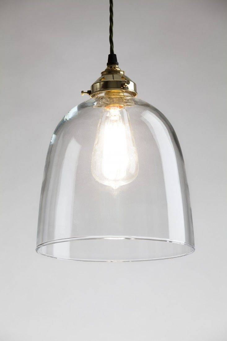 Featured Photo of Clear Glass Shades For Pendant Lights