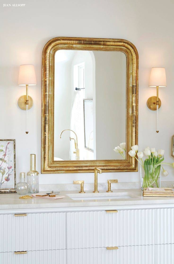 Best 25+ Gold Framed Mirror Ideas On Pinterest | Mirror Gallery with regard to Gold Heart Mirrors (Image 4 of 15)