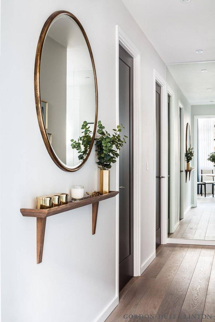 Best 25+ Hallway Mirror Ideas On Pinterest | Entryway Shelf, Hall regarding Long Mirrors For Hallway (Image 4 of 15)