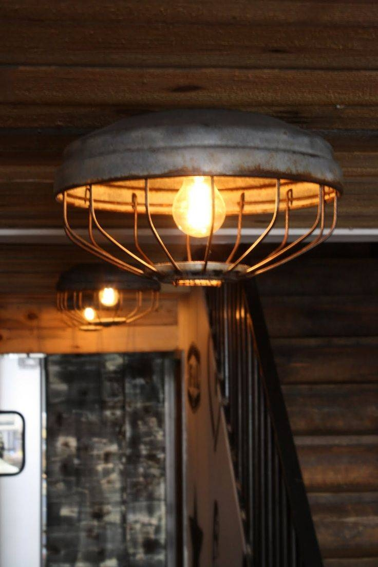Best 25+ Industrial Ceiling Lights Ideas Only On Pinterest intended for Industrial Looking Lights Fixtures (Image 2 of 15)