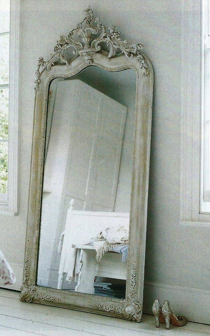 Best 25+ Large Floor Mirrors Ideas On Pinterest | Floor Mirrors for Ornate Free Standing Mirrors (Image 6 of 15)