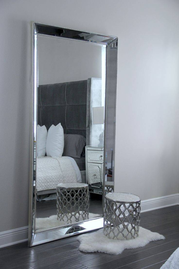 Best 25+ Leaning Mirror Ideas On Pinterest | Floor Mirror, Floor Within Extra Large Black Mirrors (View 10 of 15)