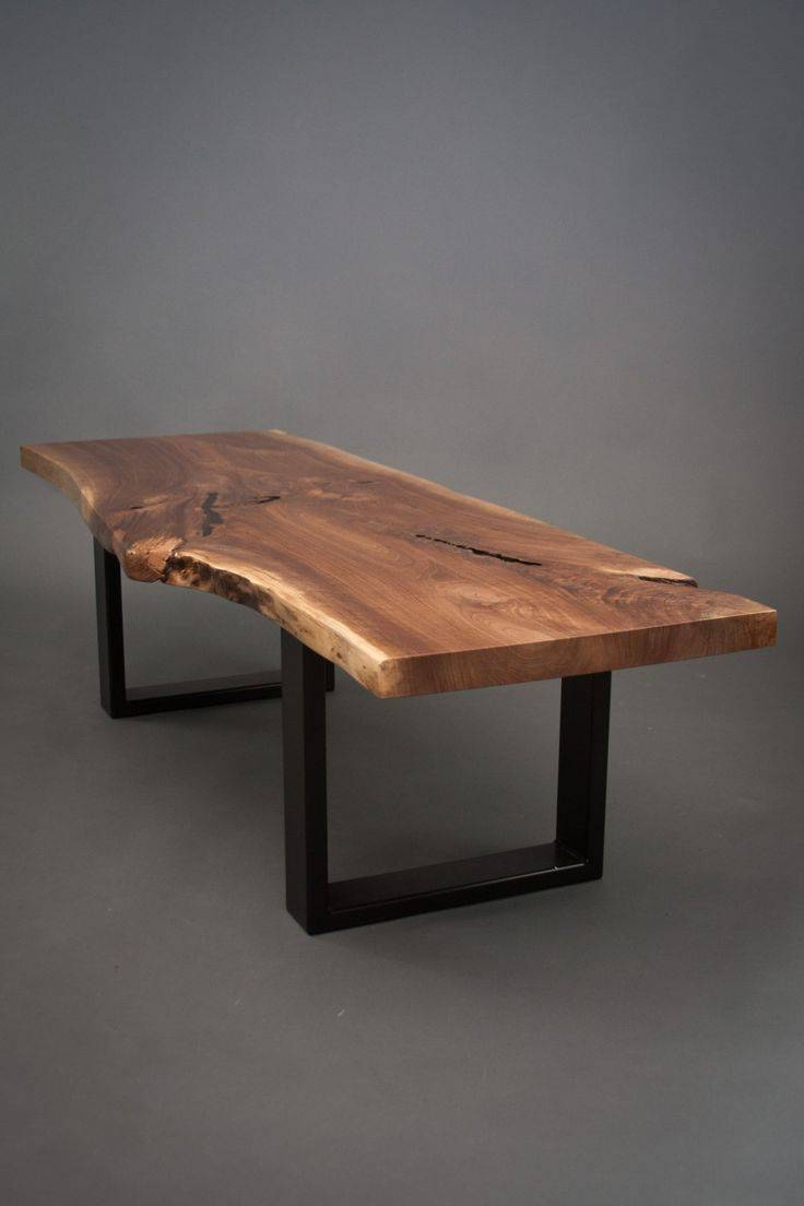 Best 25+ Live Edge Table Ideas On Pinterest | Natural Wood Table in Live Edge Coffee Tables (Image 1 of 15)