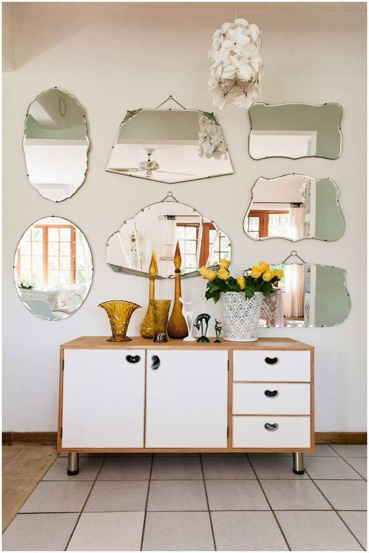 Best 25+ Mirror Gallery Wall Ideas On Pinterest | Wall Of Mirrors with Pretty Mirrors For Walls (Image 5 of 15)