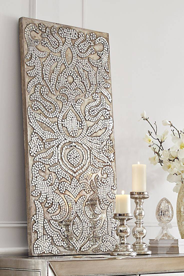Best 25+ Mirror Wall Art Ideas On Pinterest | Cd Wall Art, Mosaic pertaining to Glitter Wall Mirrors (Image 7 of 15)