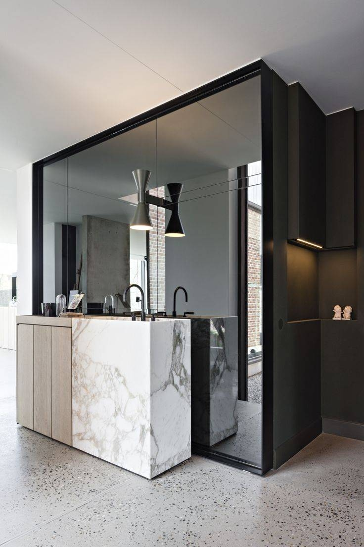 Best 25+ Mirror Wall Tiles Ideas That You Will Like On Pinterest within Big Modern Mirrors (Image 3 of 15)