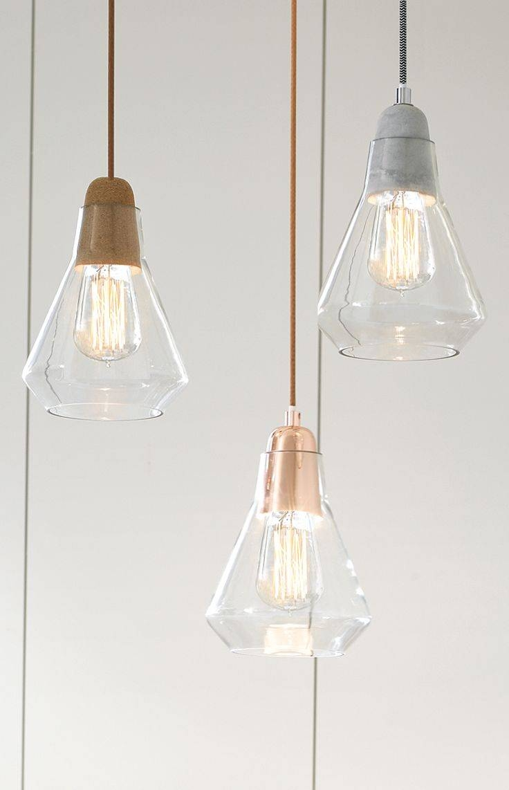 Best 25+ Pendant Lighting Ideas On Pinterest | Island Lighting Intended For Crackle Glass Pendant Lights (View 2 of 15)