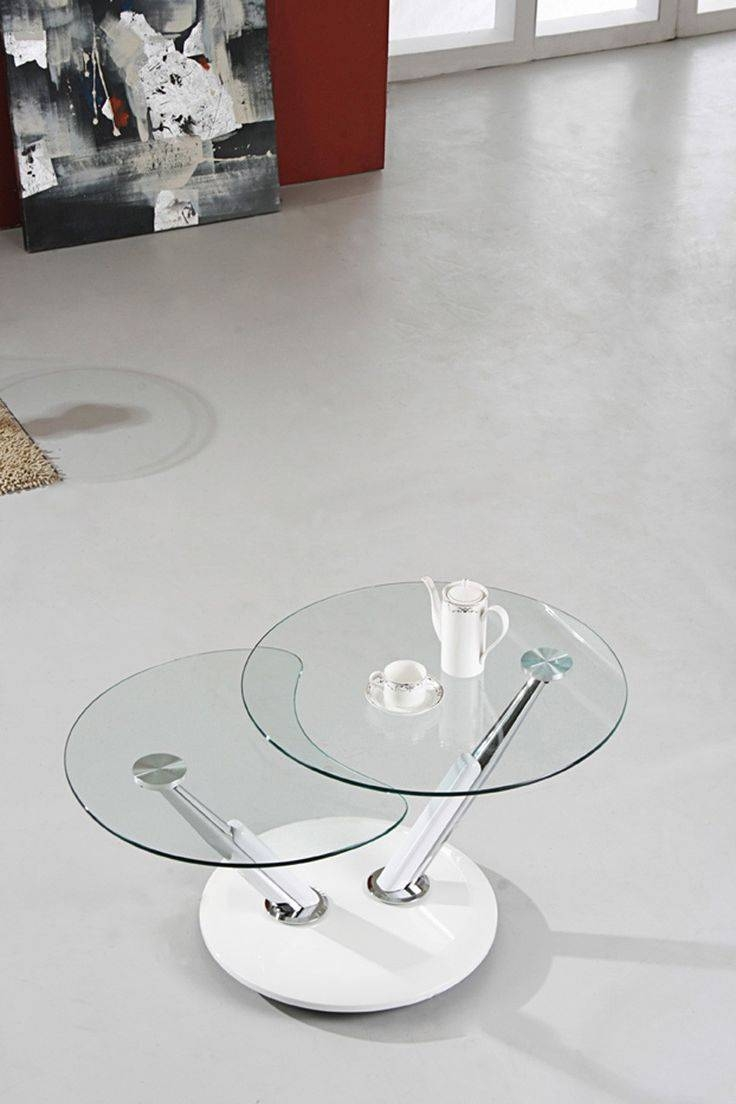 Best 25+ Round Glass Coffee Table Ideas On Pinterest | Ikea Glass within Spiral Glass Coffee Table (Image 5 of 15)