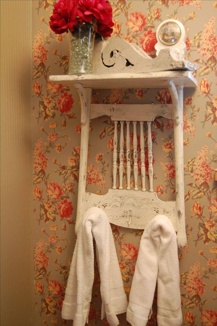Best 25+ Shabby Chic Shelves Ideas On Pinterest | Rustic Shabby intended for Shabby Chic Mirrors With Shelf (Image 3 of 15)