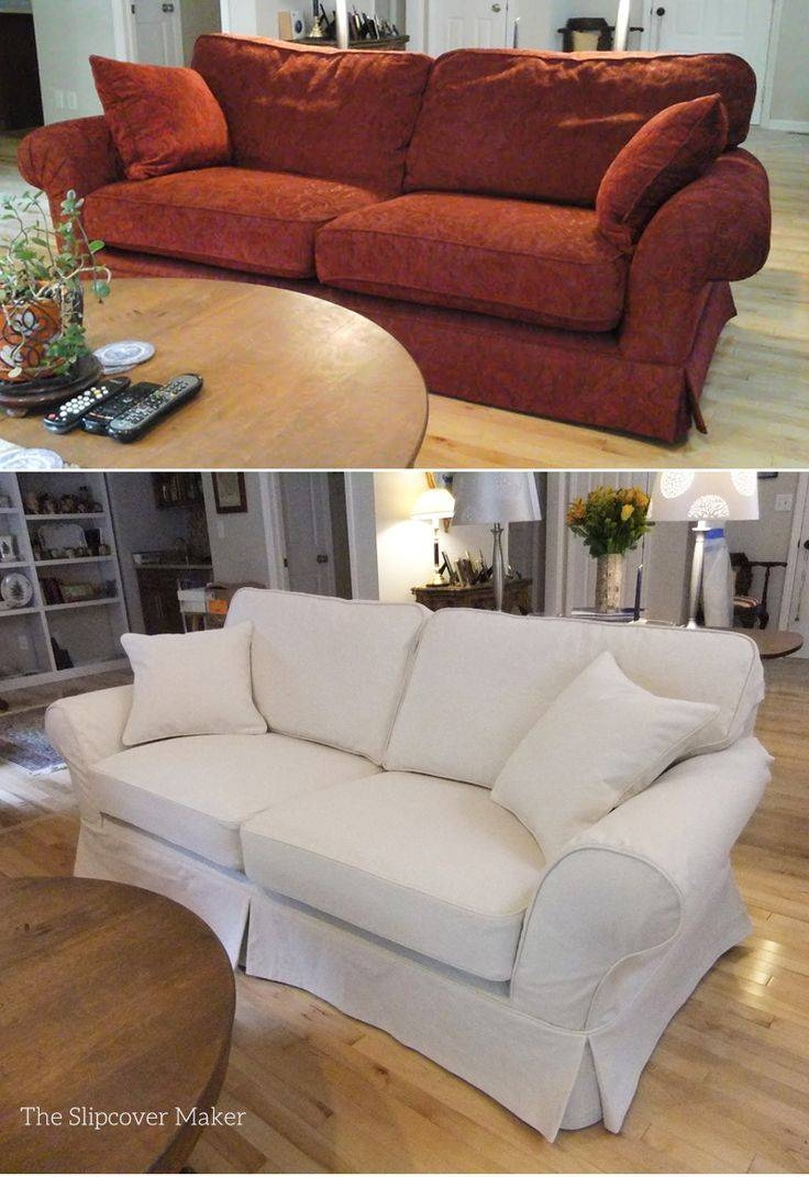Best 25+ Sofa Covers Cheap Ideas On Pinterest | Fabric Covered with regard to Canvas Sofas Covers (Image 2 of 15)