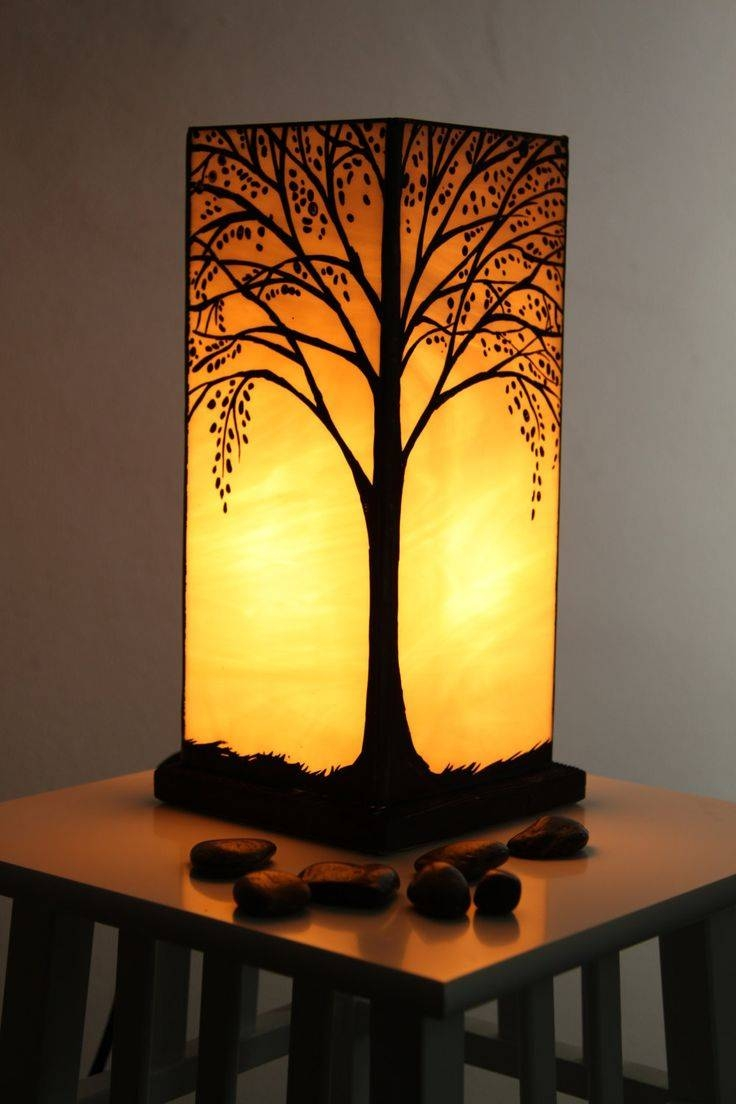 Best 25+ Stained Glass Lamps Ideas On Pinterest | Stained Glass With Regard To Coloured Glass Lights Shades (View 3 of 15)