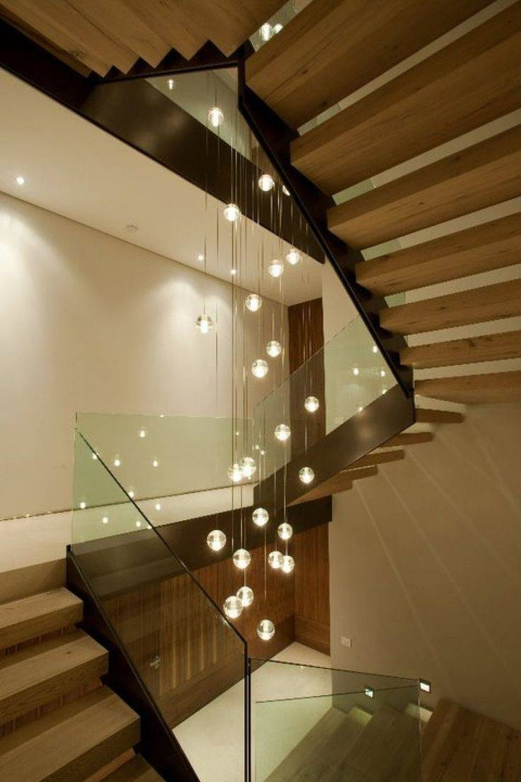 Best 25+ Stairway Lighting Ideas On Pinterest | Stair Lighting intended for Pendant Lights for Stairwell (Image 4 of 15)