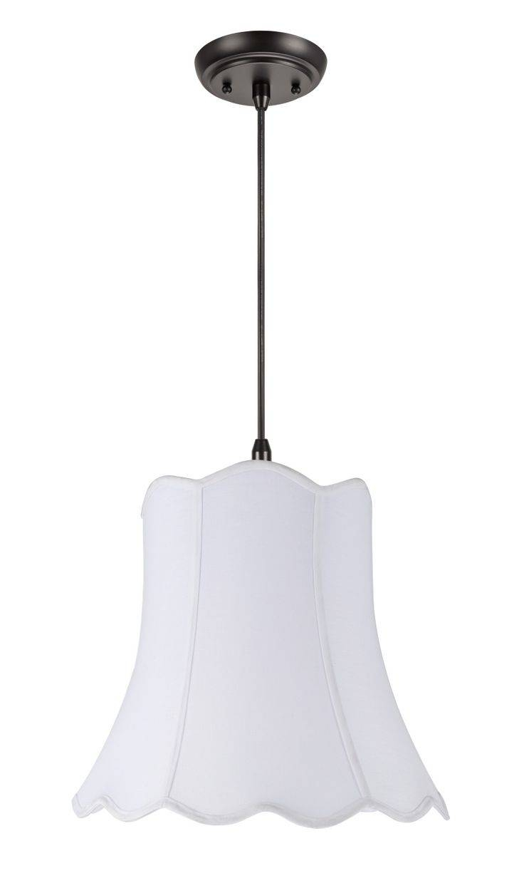Best 25+ Transitional Lamp Shades Ideas On Pinterest | Industrial within Scalloped Pendant Lights (Image 4 of 15)