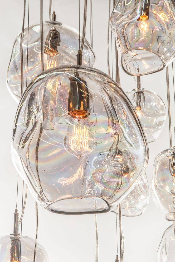 Best 25+ Unique Lighting Ideas On Pinterest | Crystal Lights pertaining to Hand Blown Glass Pendant Lights Australia (Image 2 of 15)