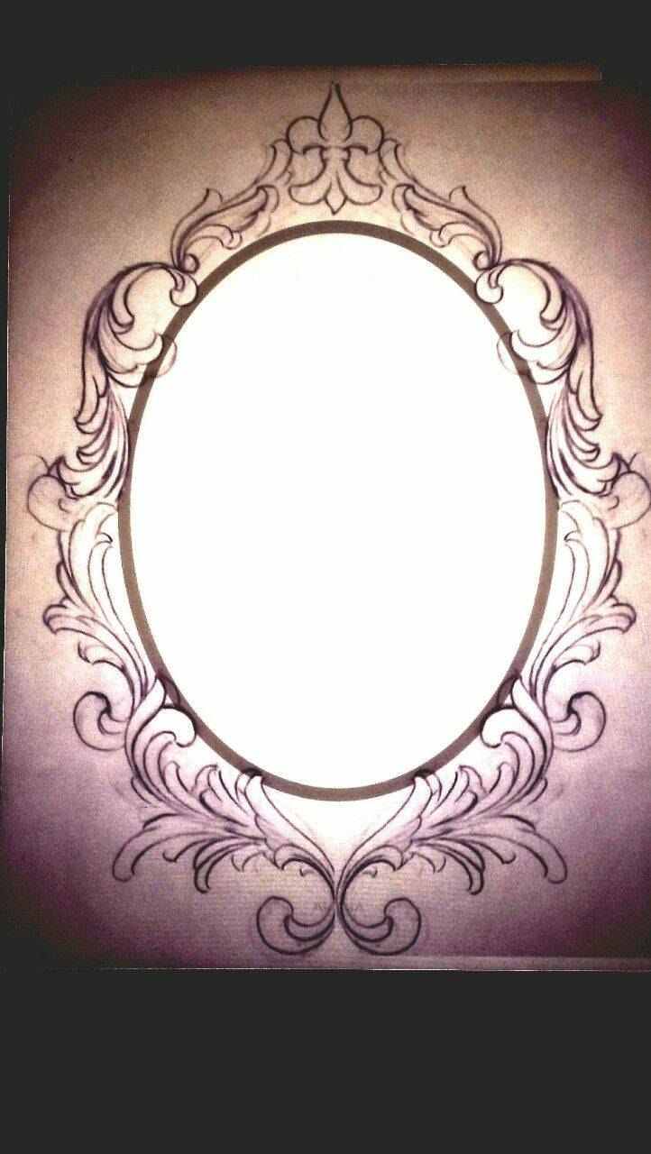 Best 25+ Victorian Frame Ideas On Pinterest | Antique Round in Black Victorian Style Mirrors (Image 4 of 15)