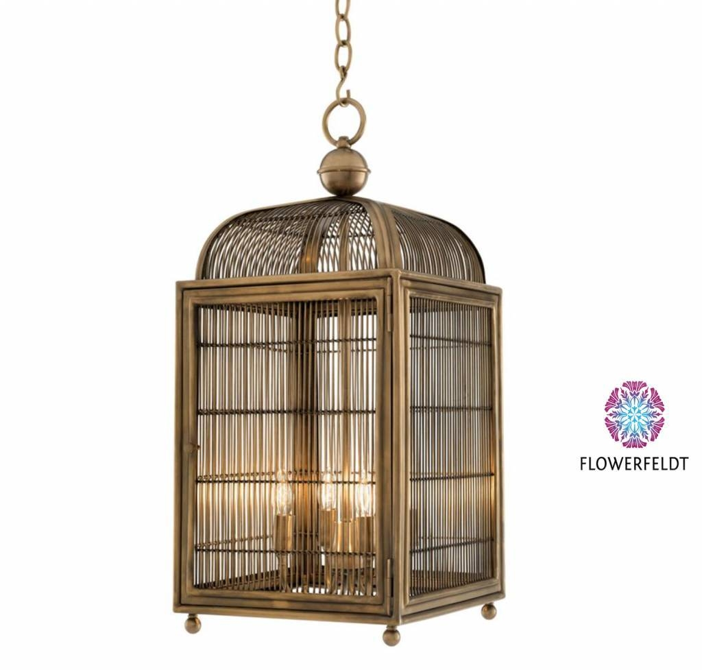 Bird Cage Lamp Brass - Bird Cage Lamps - Flowerfeldt with Birdcage Pendant Lights Chandeliers (Image 8 of 15)