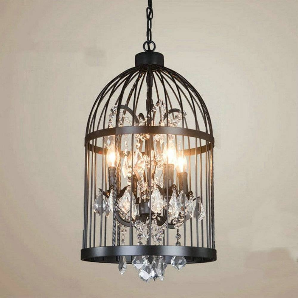 Bird Cage Lamp (View 2 of 15)