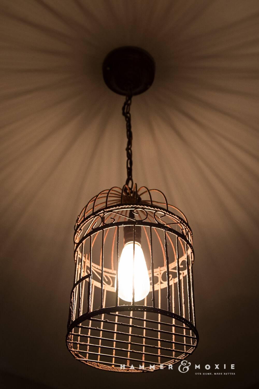 15 inspirations of birdcage pendant lights bird cage pendant light baby exit pertaining to birdcage pendant lights image 5 aloadofball Image collections