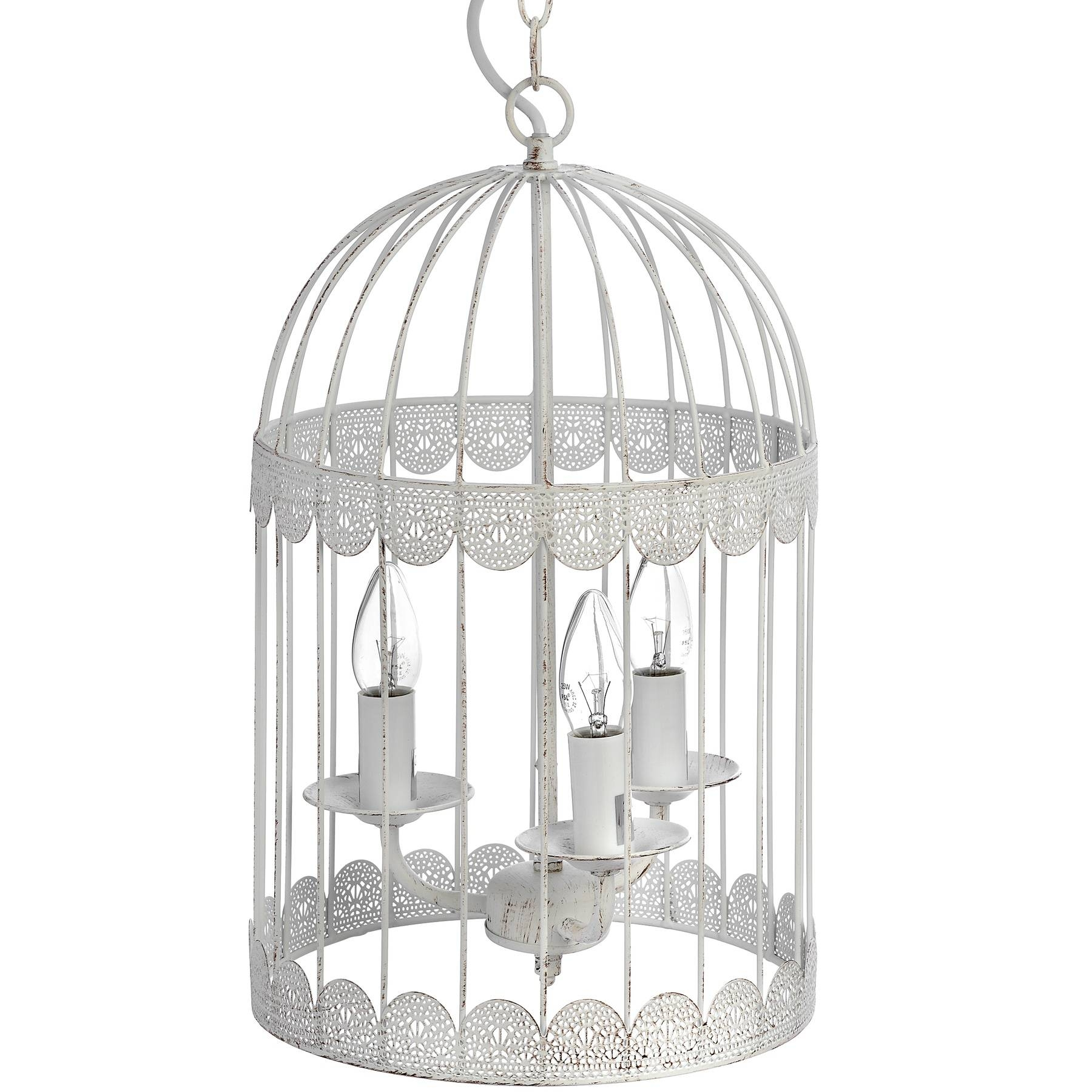 Birdcage Chandelier within Birdcage Lights Fixtures (Image 11 of 15)