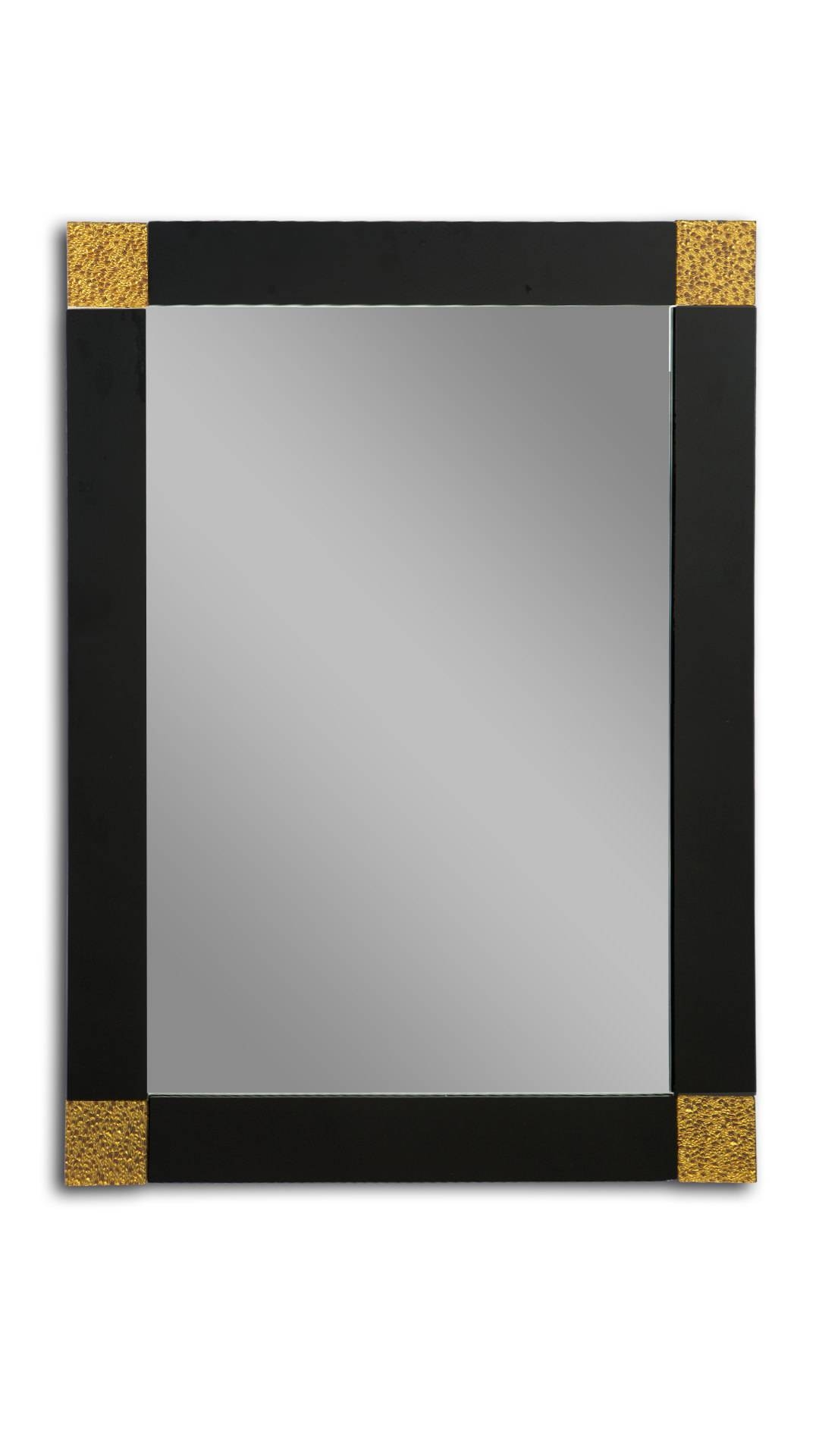 Black And Gold Rectangle Wall Mirror pertaining to Black And Gold Wall Mirrors (Image 8 of 15)