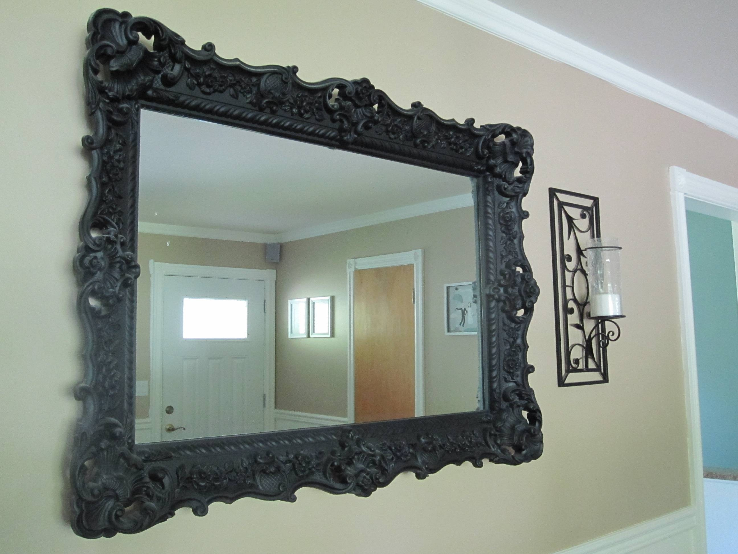 Black Mirrors For Sale – Harpsounds.co intended for Black Large Mirrors (Image 4 of 15)