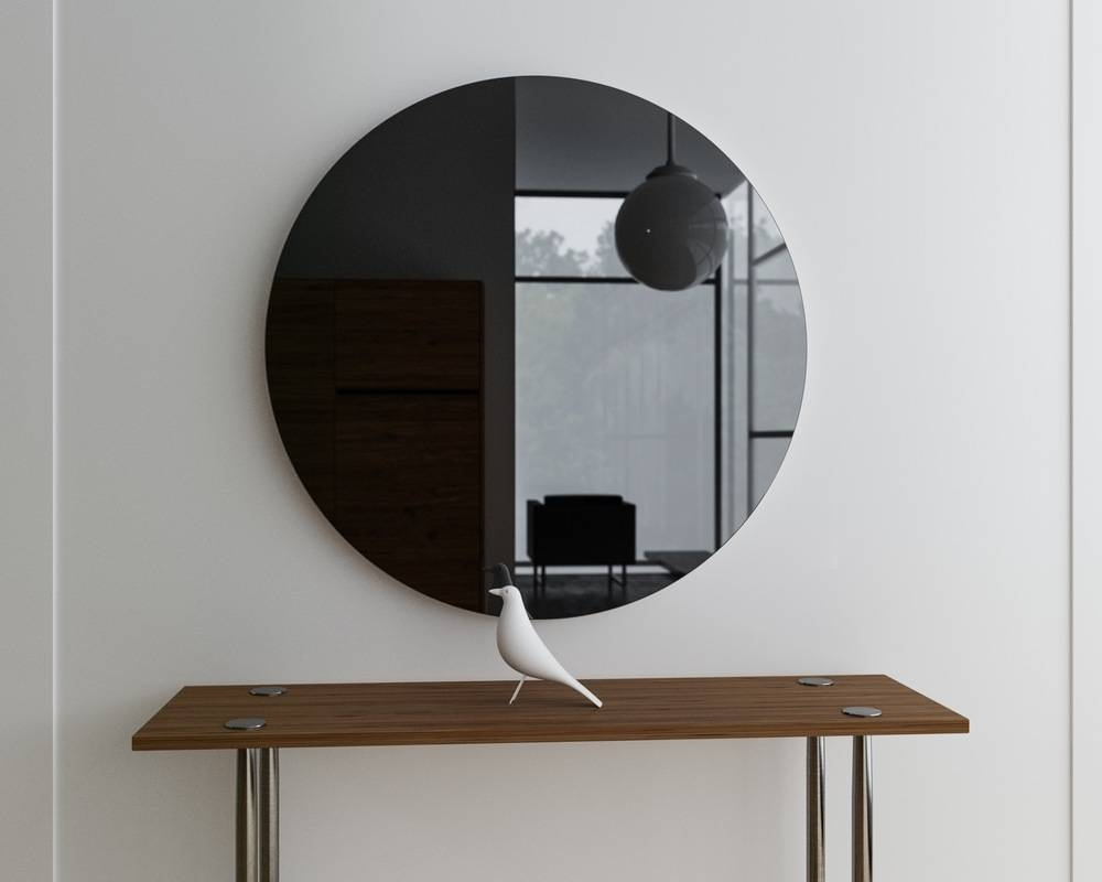 Black Wall Mirrors Decorative Pool : How To Remove Black Wall inside Black Mirrors (Image 3 of 15)