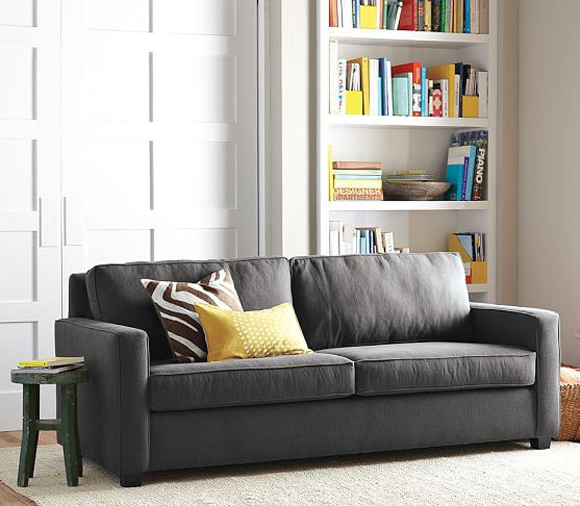 Black. White. Yellow.}: Henry Sofa From West Elm with regard to West Elm Henry Sofas (Image 3 of 15)