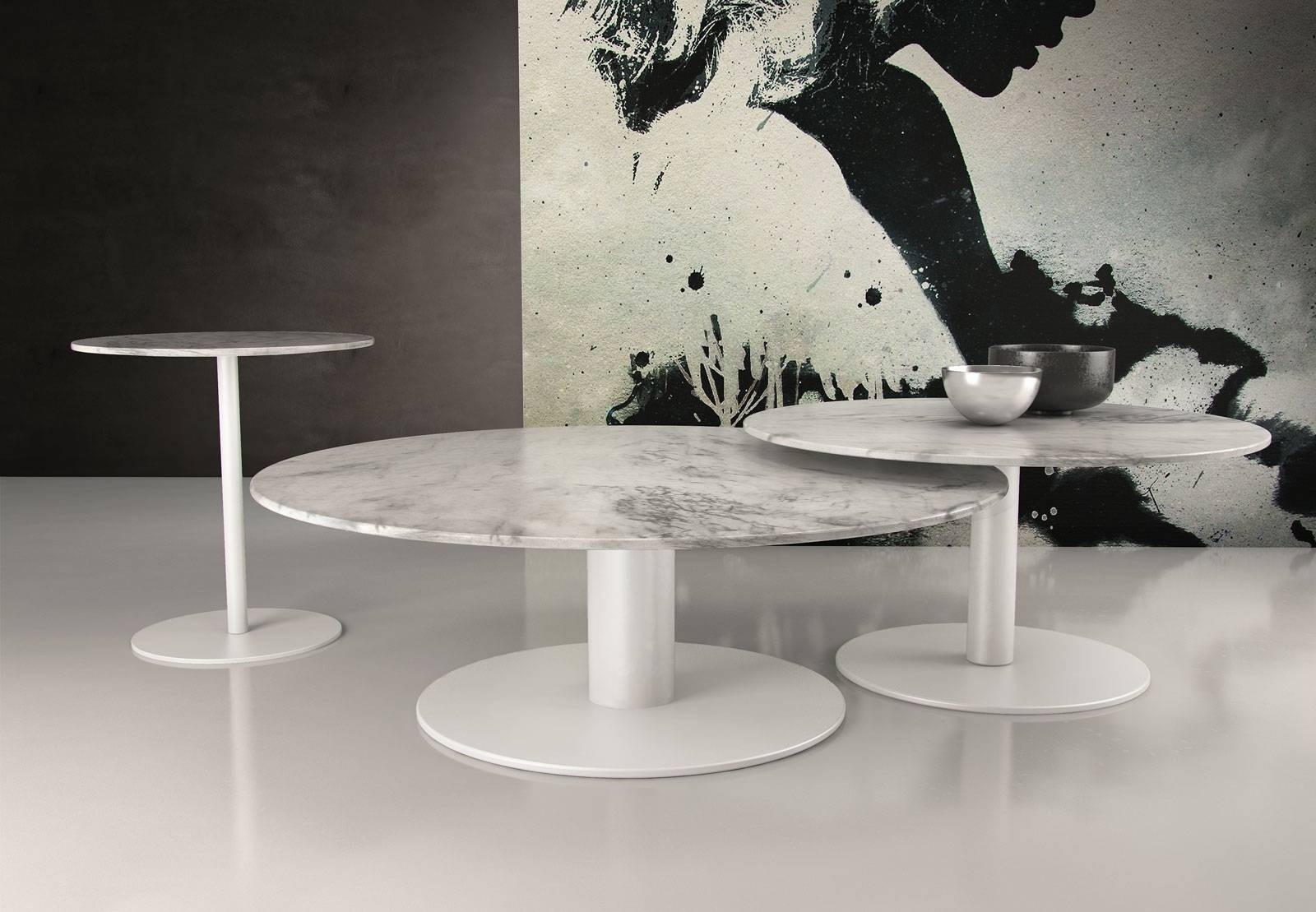 Bleecker High Coffee Table White Marblemodloft pertaining to High Coffee Tables (Image 4 of 15)