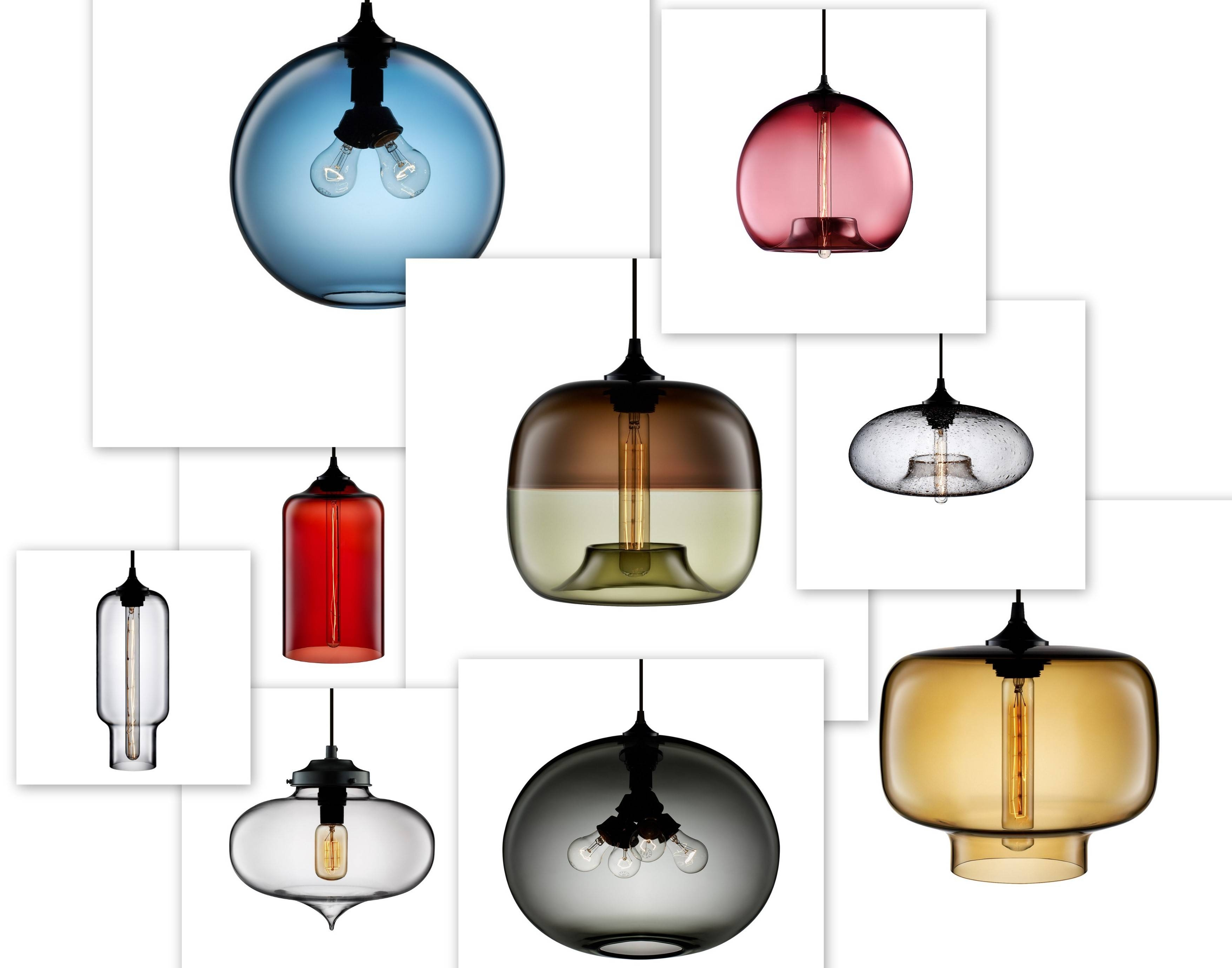 Blown Glass Pendant Light - Baby-Exit in Blown Glass Pendant Lights Fixtures (Image 1 of 15)