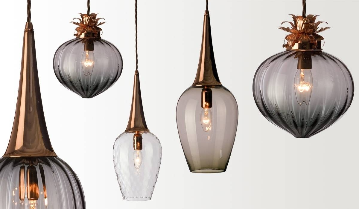 Blown Glass Pendant Lights. Hand Blown Glass Pendant Lights Home for Hand Blown Glass Pendants (Image 3 of 15)