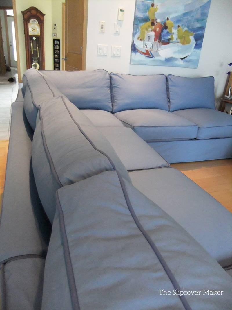 Canvas Sectional Sofa Small Canvas Sectional Sofa 13